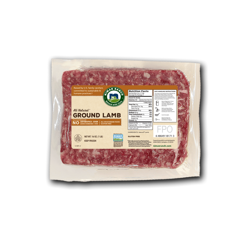Niman Ranch Ground Lamb image number 0