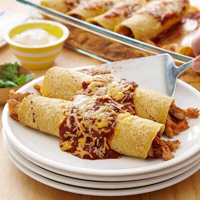 Easiest Ever Grilled Chicken Enchiladas