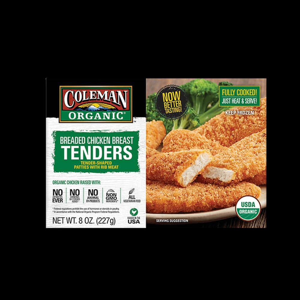 Coleman Natural Foods Organic Breaded Chicken Breast Tenders image number 0