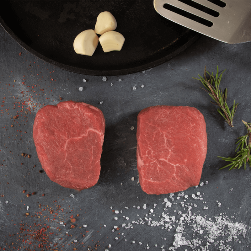 Panorama Organic Grass-Fed Filet Mignon Steaks image number 4