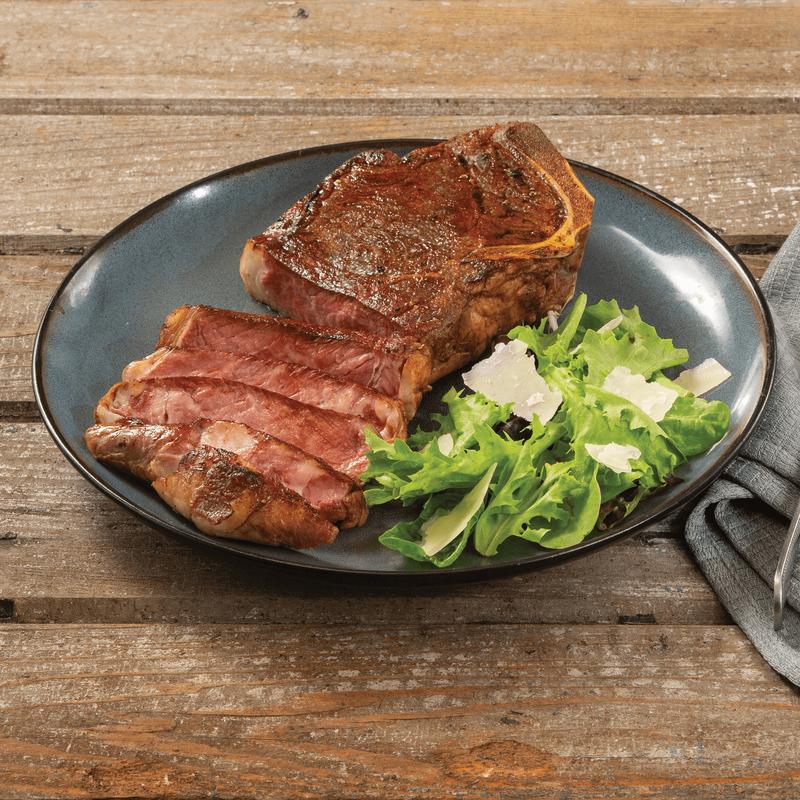 Niman Ranch Bone-In Strip Steak image number 4