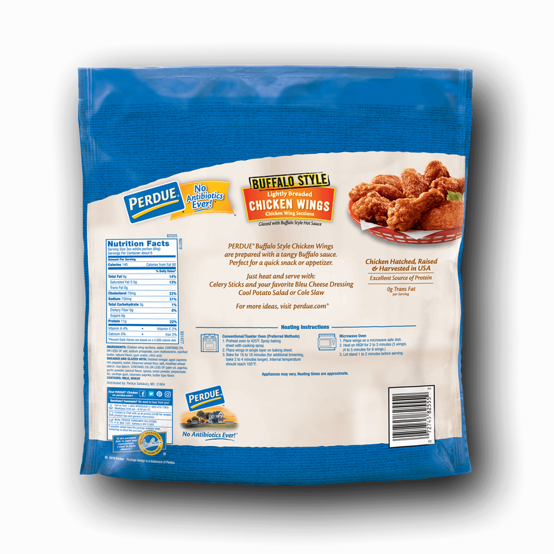 Perdue Buffalo-Style Glazed Chicken Wings image number 1