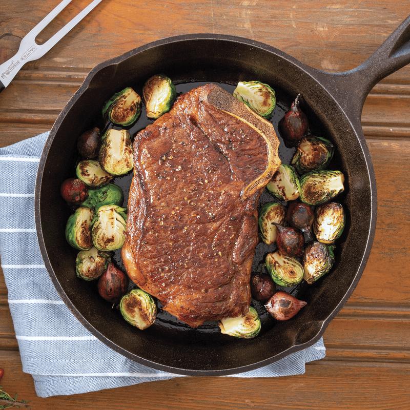 Niman Ranch Bone-In Strip Steak image number 2
