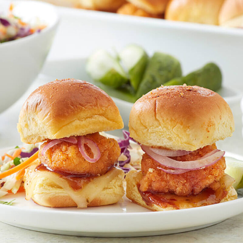 Barbecue Fried Chicken Sliders image number 0