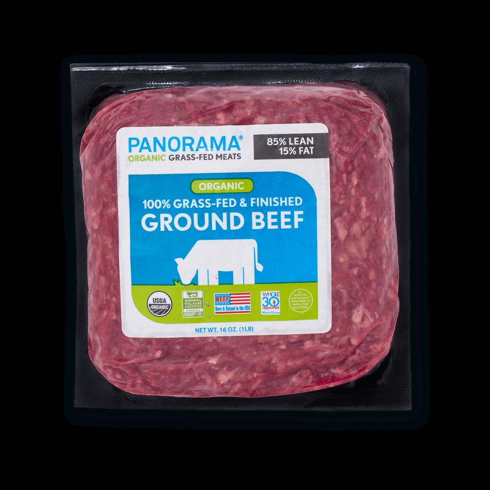 Panorama Organic Grass-Fed 85/15 Ground Beef image number 0