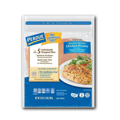 Perdue Boneless Skinless Chicken Breast Filets