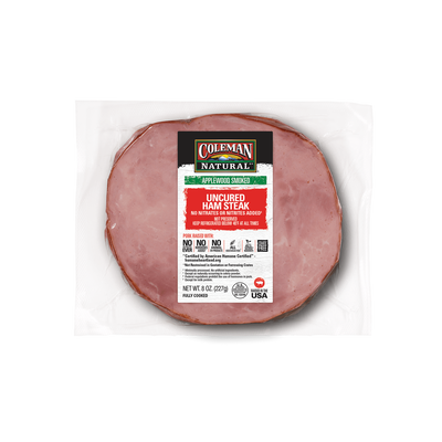 Coleman Natural Uncured Ham Steak