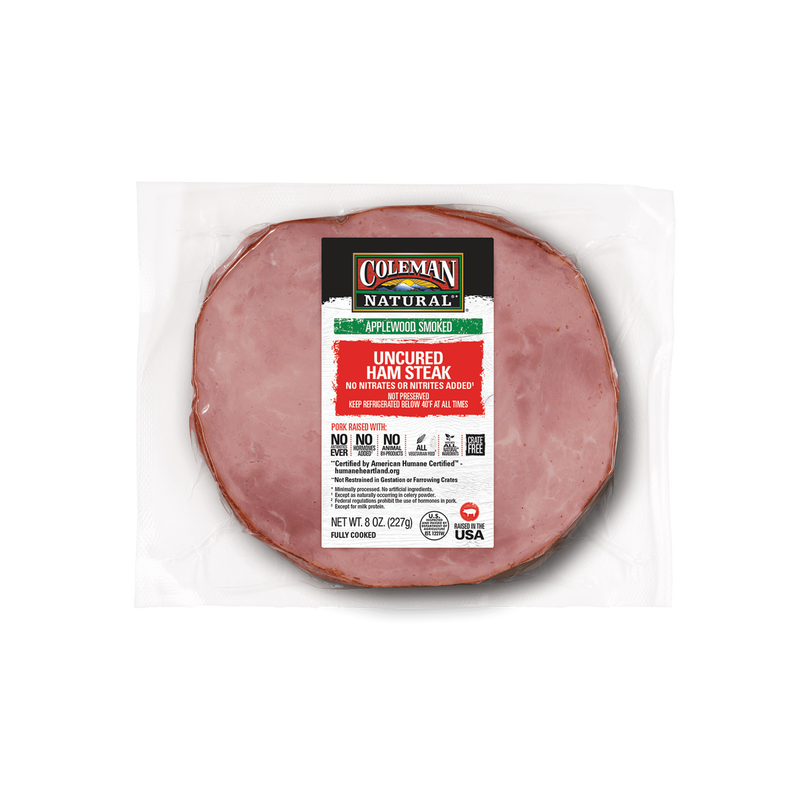 Coleman Natural Uncured Ham Steak image number 0