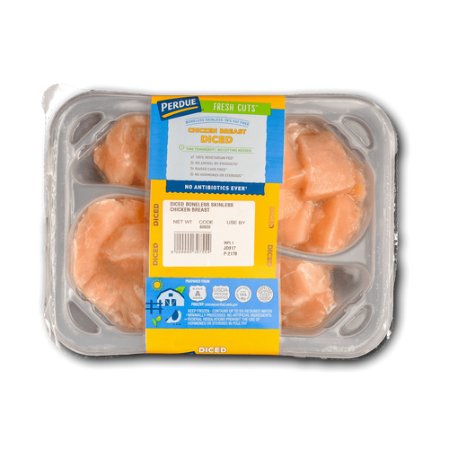 Perdue Fresh Cuts Diced Chicken Breasts