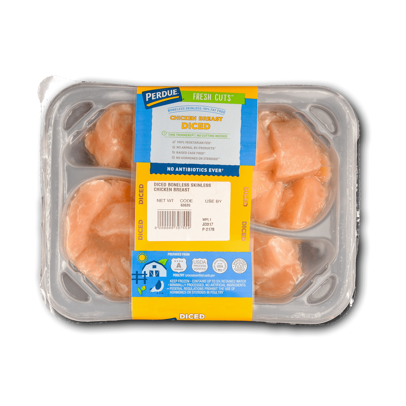 Perdue Fresh Cuts Diced Chicken Breasts image number 0