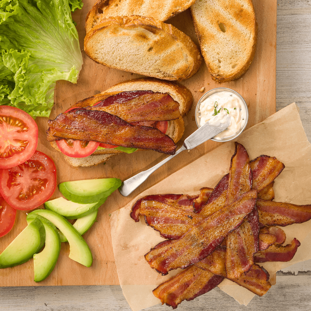 Niman Ranch Uncured Double Smoked Bacon image number 1