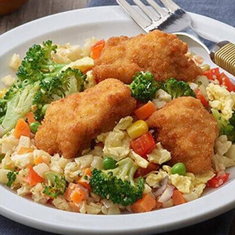 Asian-Style Chicken and Cauliflower-Veggie Rice image number 0