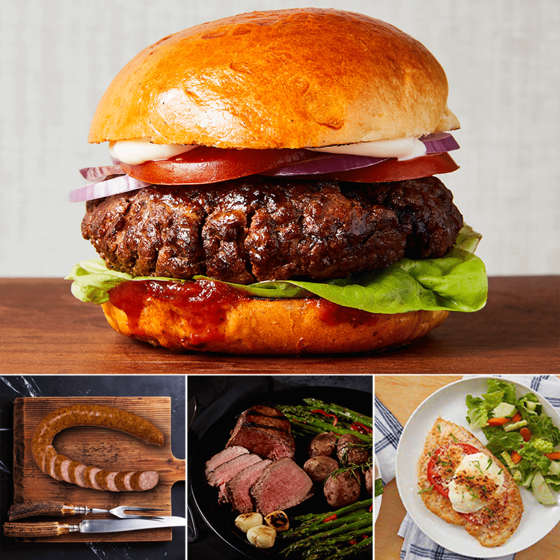 Sirloin Steak and Premium Proteins Gift Bundle image number 2