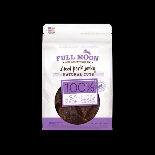 Full Moon Natural Cut Pork Jerky Dog Treats