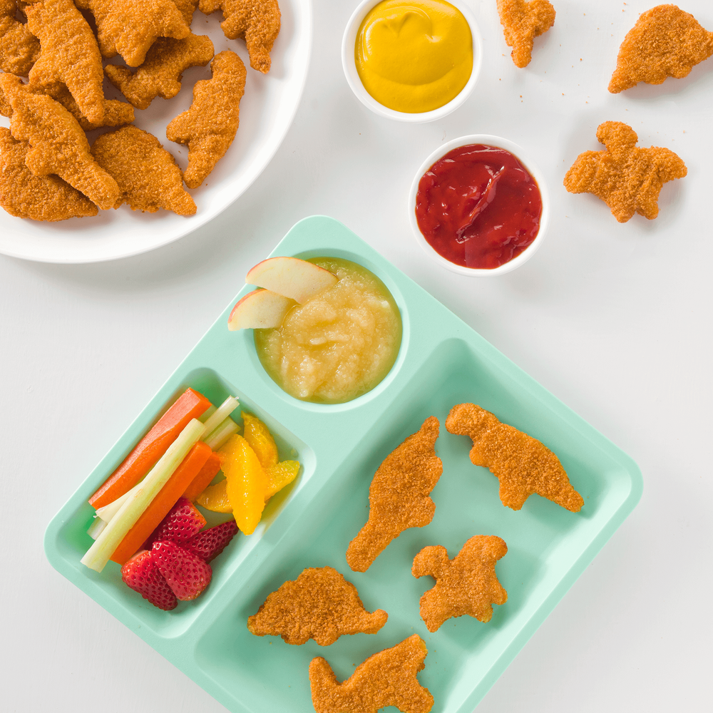 Yummy Dino Buddies All-Natural Dinosaur-Shaped Chicken Breast Nuggets image number 1