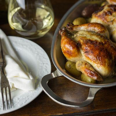 Wine-Country Cornish Hens