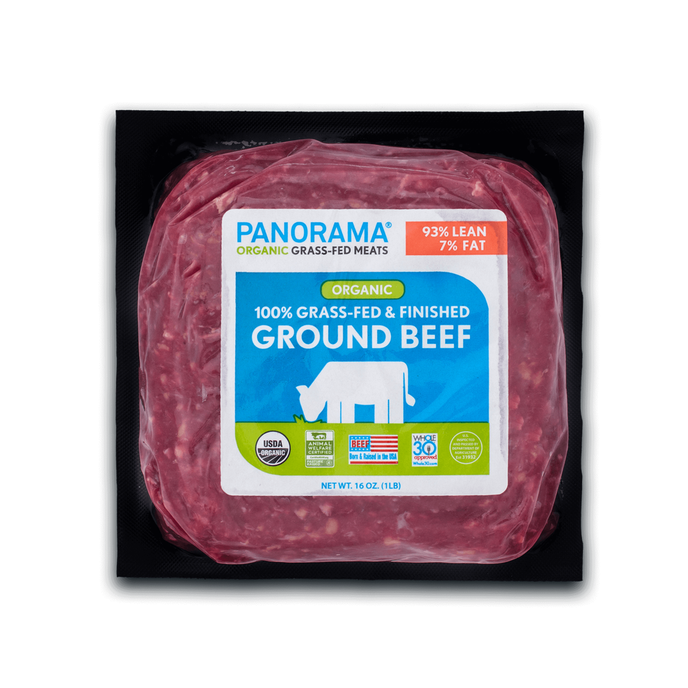 Panorama Organic Grass-Fed 93/7 Ground Beef image number 0