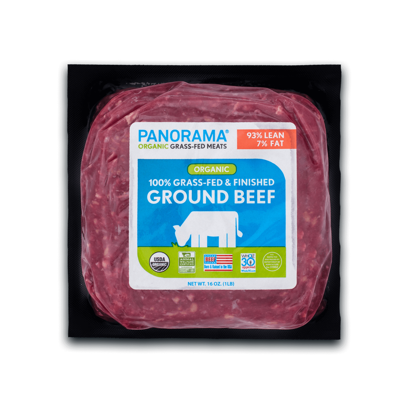 Panorama Organic Grass-Fed 93/7 Ground Beef image number 0
