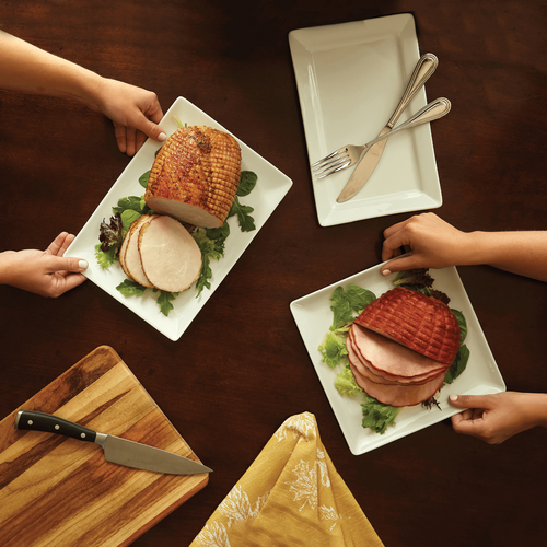 Gifts from the Farm Turkey and Ham Roast Duo