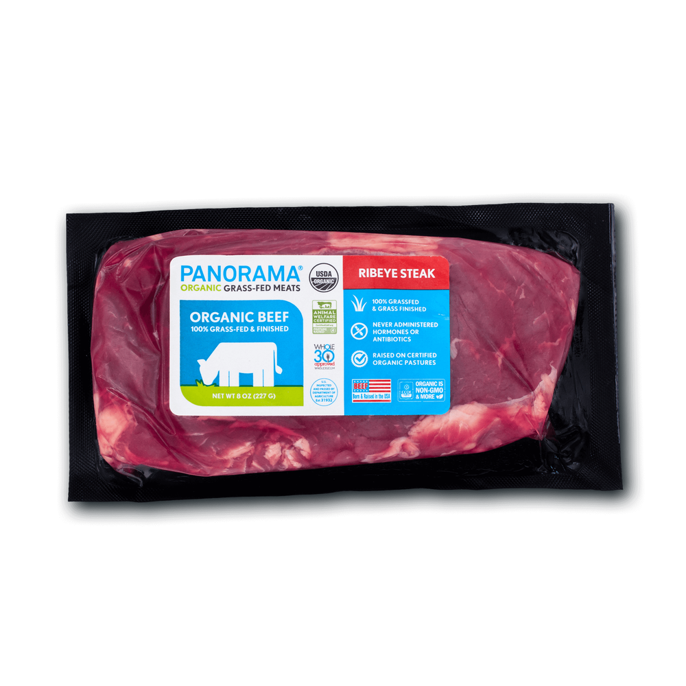 Panorama Organic Grass-Fed Ribeye Steak image number 1