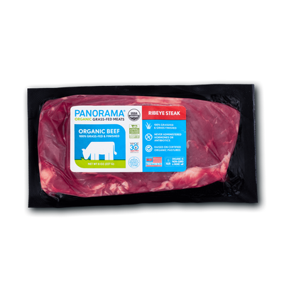 Panorama Organic Grass-Fed Ribeye Steak