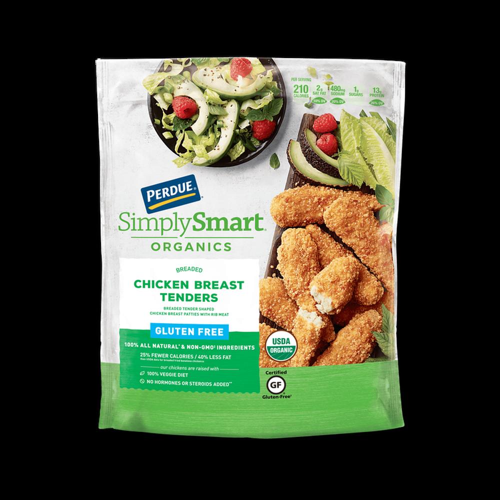 Perdue SimplySmart Organics Breaded Chicken Breast Tenders Gluten Free image number 0