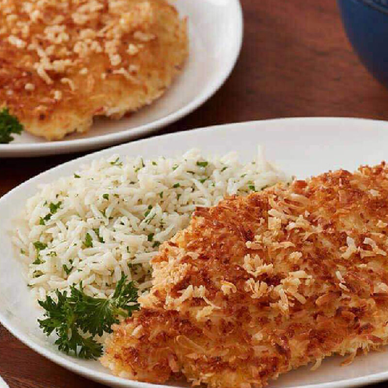 Coconut and Panko-Crusted Fried Chicken image number 0