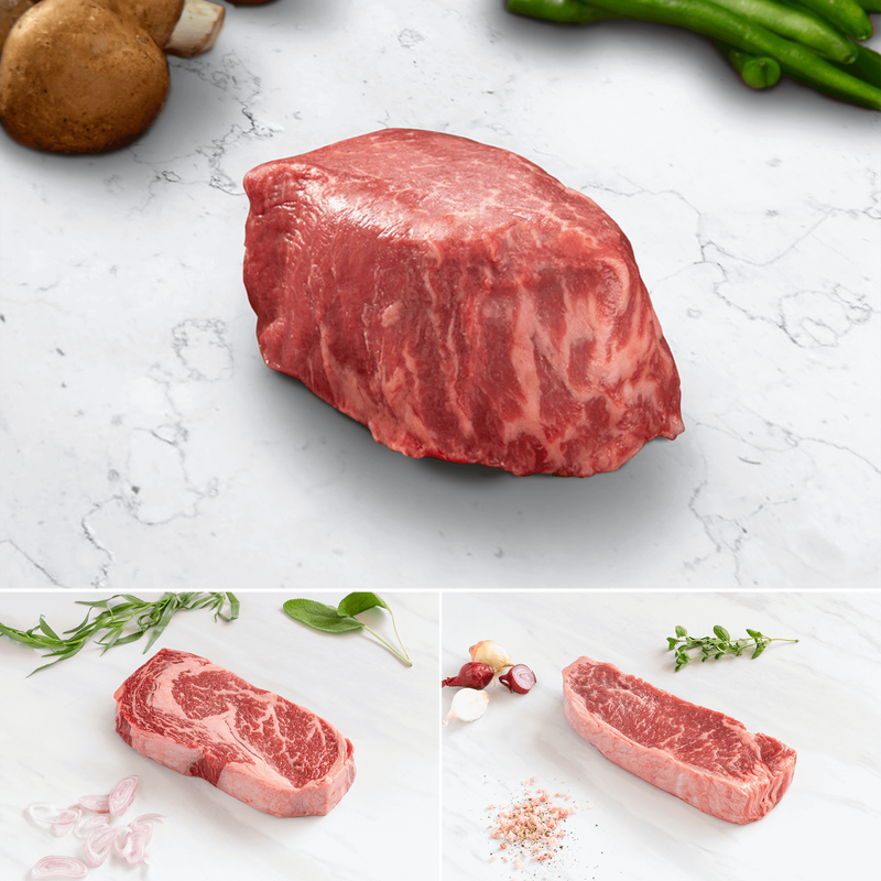 Niman Ranch Prime Steak Flight image number 2