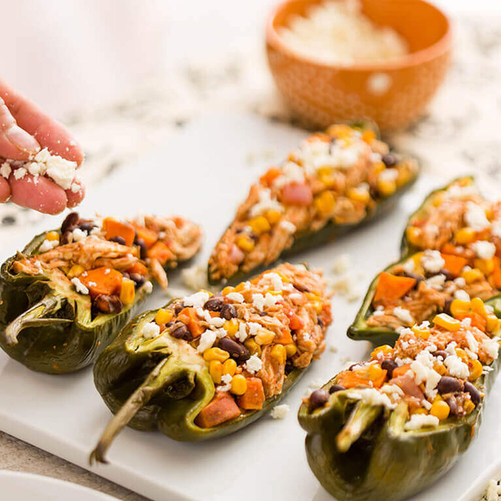 Halloween Stuffed Poblano Peppers image number 0