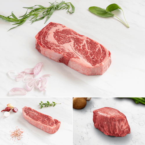 Niman Ranch Prime Steak Flight