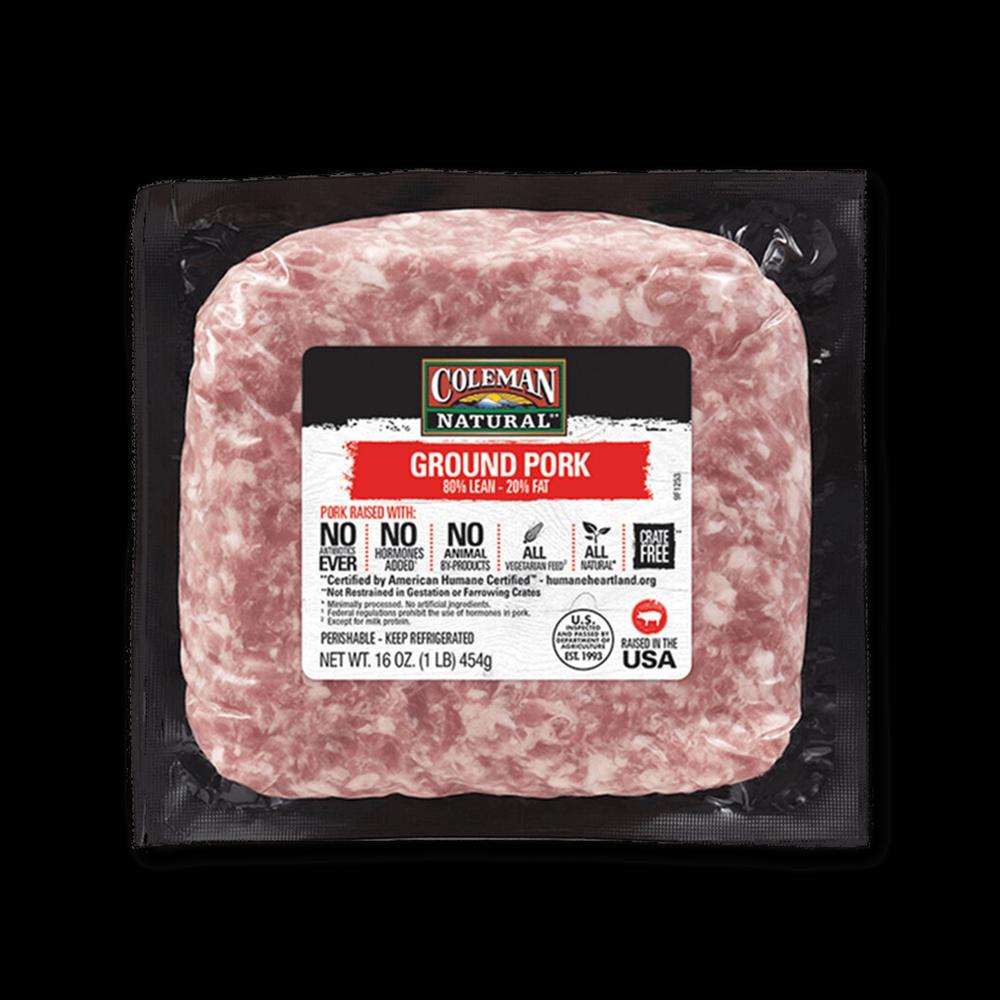 Coleman Natural Ground Pork image number 0