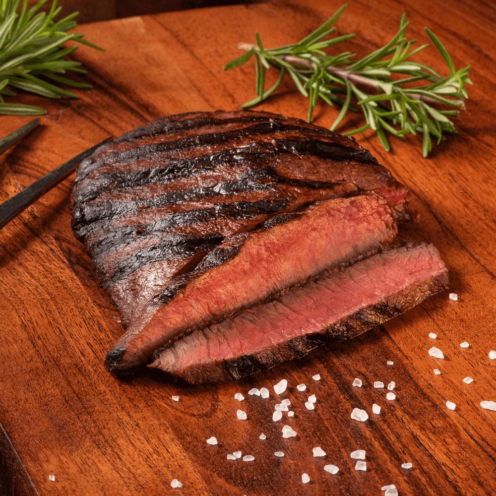 Niman Ranch Flat Iron Steak Gathering image number 0