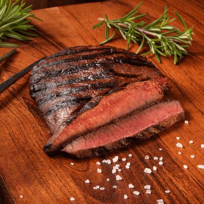 Niman Ranch Flat Iron Steak Gathering