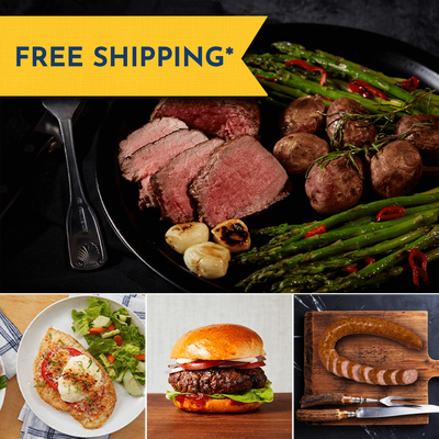 Sirloin Steak and Premium Proteins Gift Bundle