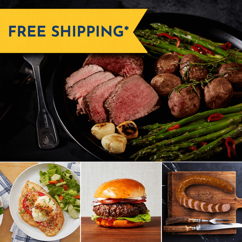 Sirloin Steak and Premium Proteins Gift Bundle image number 0