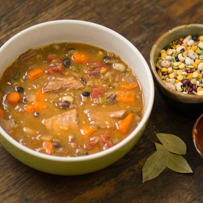 Hearty Homemade Ham and Bean Soup