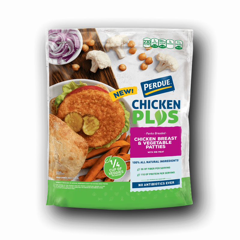Perdue Chicken Plus Chicken Breast and Vegetable Patties image number 0