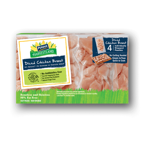Perdue Harvestland Diced Chicken Breasts