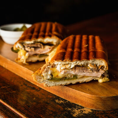 Toasted Cuban Sandwich