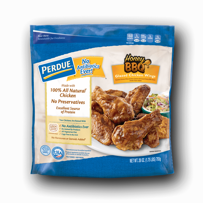 Perdue Honey BBQ Glazed Chicken Wings image number 0