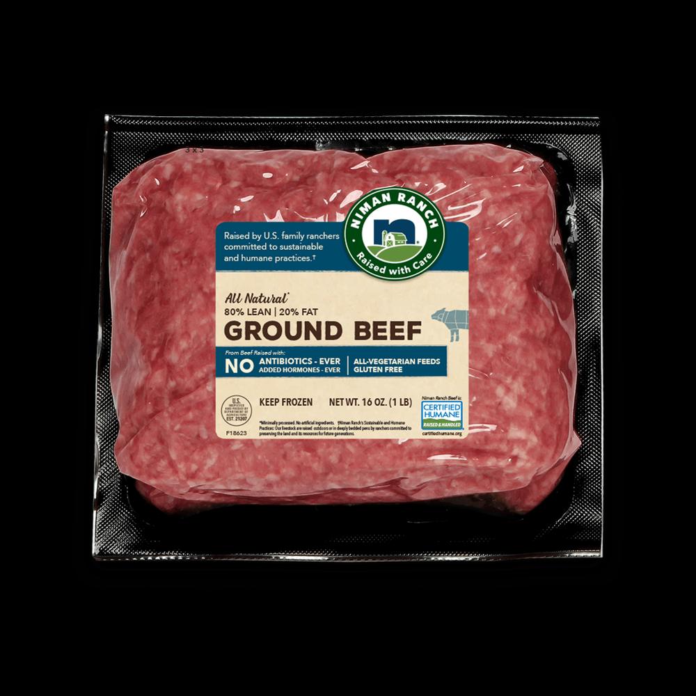 Niman Ranch 80/20 Ground Beef image number 0