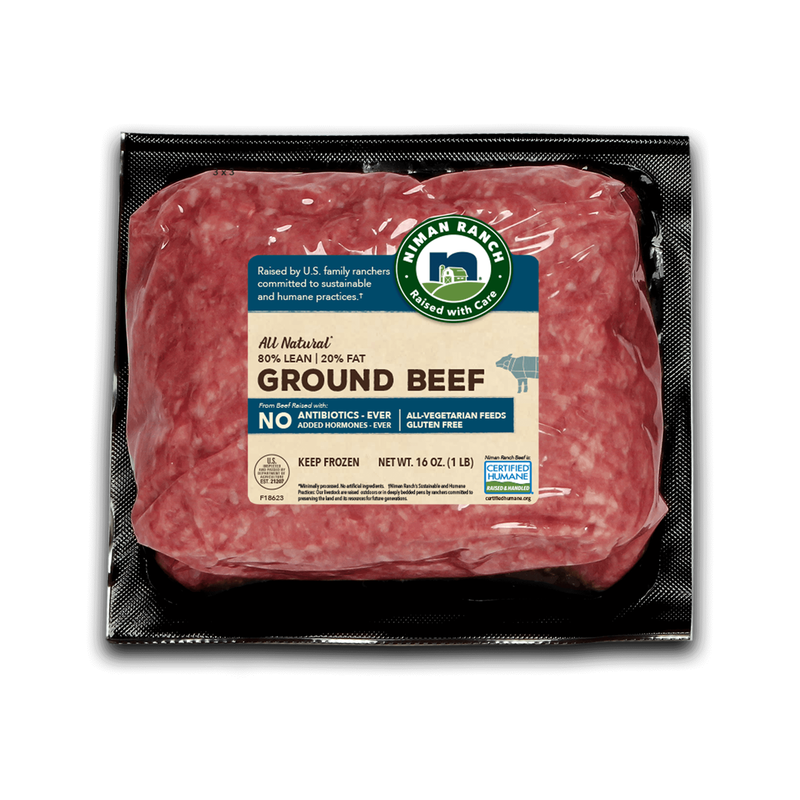 Niman Ranch 80/20 Ground Beef image number 0