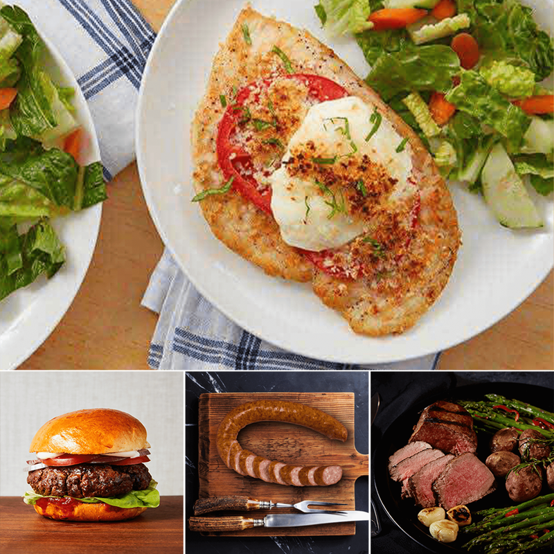 Sirloin Steak and Premium Proteins Gift Bundle image number 1