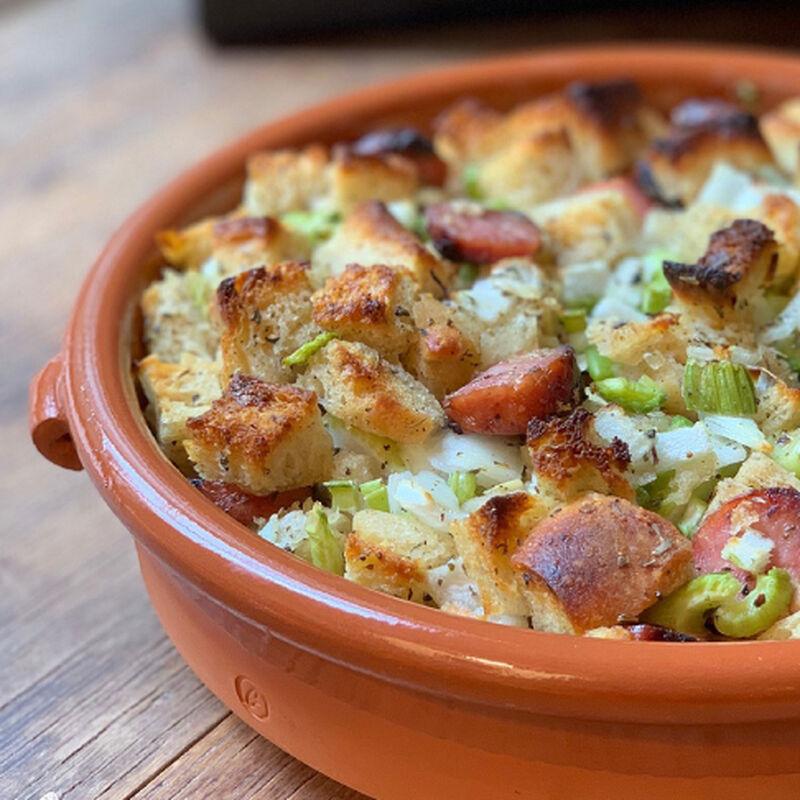 apple sausage stuffing recipe