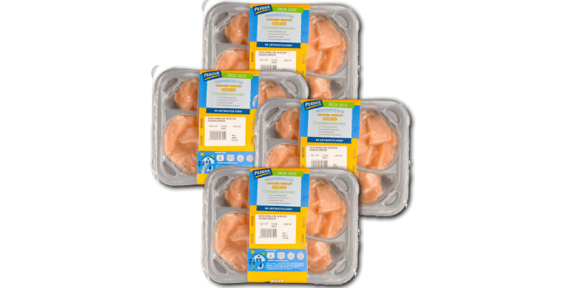 Perdue diced chicken breasts