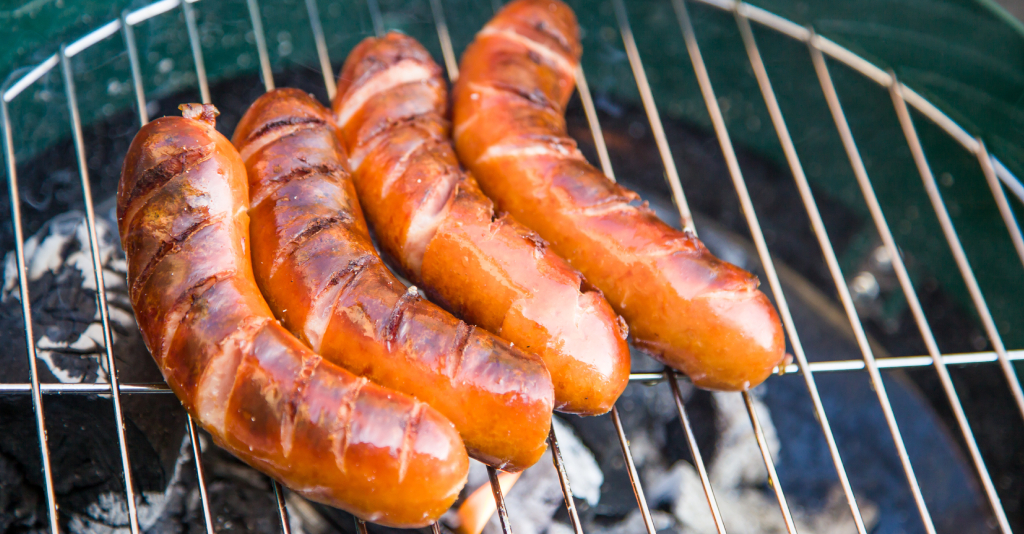 how to grill hot dogs