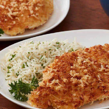 panko-crusted chicken filets