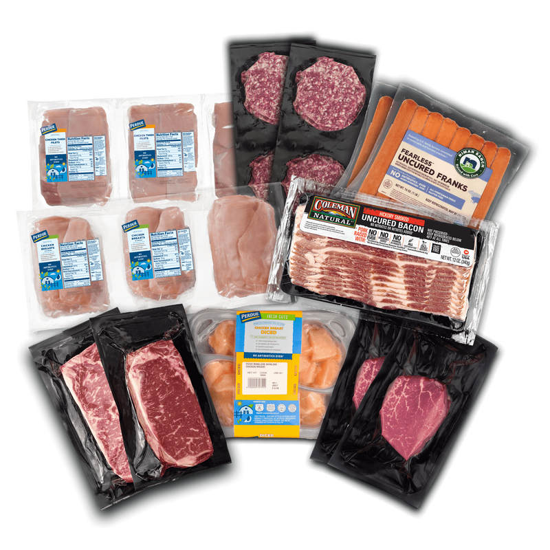 grilling feast chicken and beef value pack