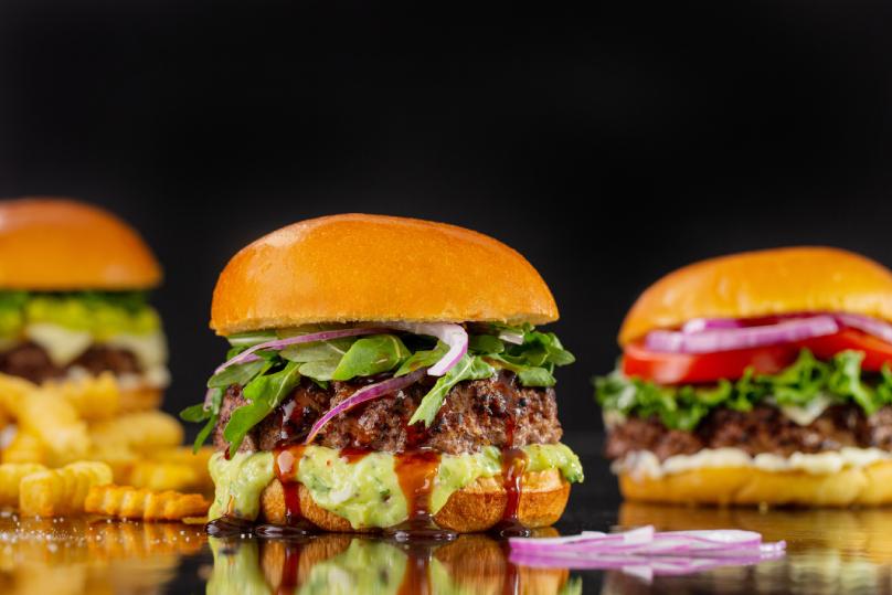 Halloween burger recipe