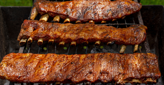 jam-glazed spare ribs recipe